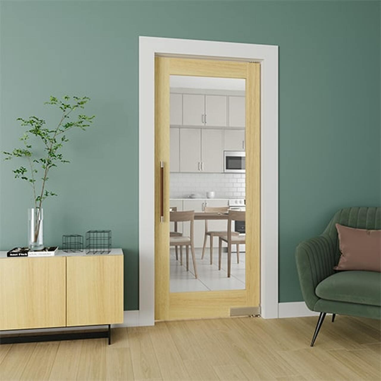 Swinging Contemporary Modern Interior Door | Butler Door